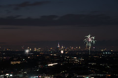 4th of July in Brooklyn (Oleg Gonik) Tags: brooklyn night empirestate fireworks 4thofjuly independence birthday nikon nikkor28300 longexposure urban city nyc manfrotto nikond810 chryslerbuilding
