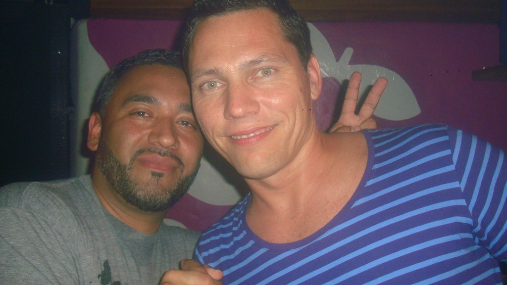 Tiesto with Harry Romero