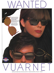fashion eyeglasses 1980s vintagead vuarnet