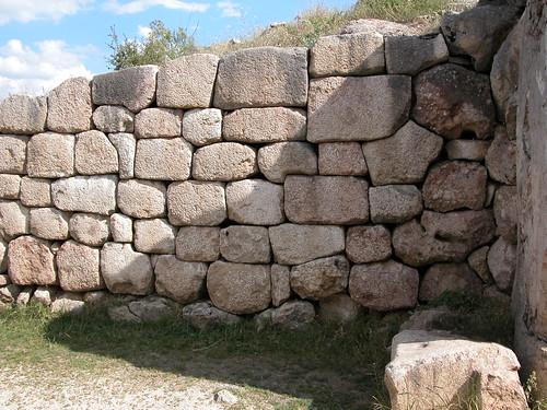 DSCN0925 Hattusas, porte des lions