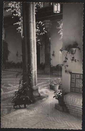 Patio toledano a mediados del siglo XX