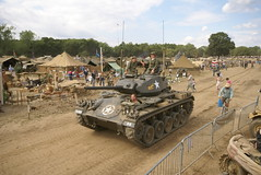 DSC05281 (tank102) Tags: show usa america kent tank military worldwarii american armor vehicle armour armored worldwar2 2010 chaffee armoured m24 warandpeaceshow beltring warpeaceshow m24chaffee