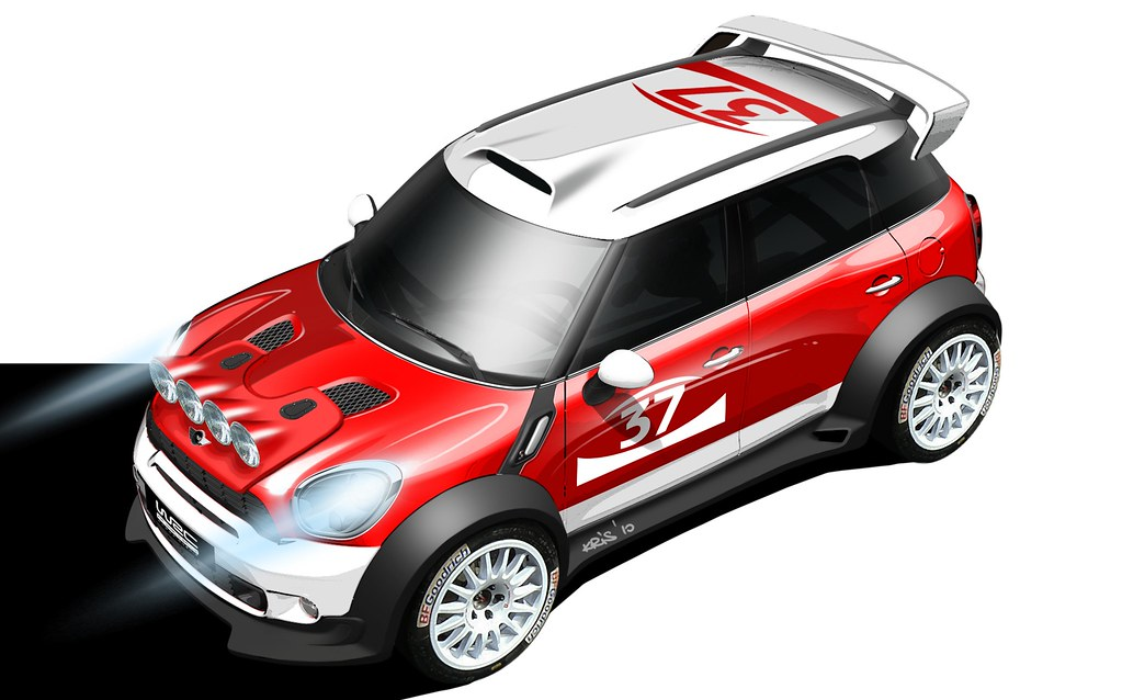 MINI WRC Countryman