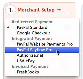 PayPal Payflow Pro New Integration