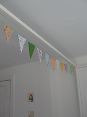 Bunting (Sarahbella3) Tags: colorful handmade sewing fabric decor sewn bunting ricarac