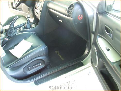 Detallado interior integral Lexus IS200-09