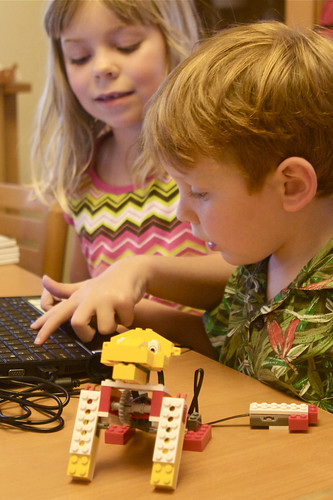 First Lego WeDo Experience
