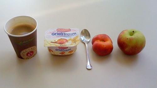 GrießTraum, Bergnektarine & Apfel