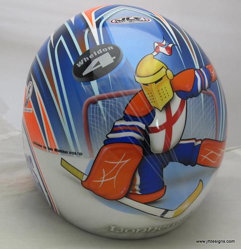 Dan Wheldon's Helmet Art