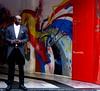 il portiere (gpaolini50) Tags: street city colore milano