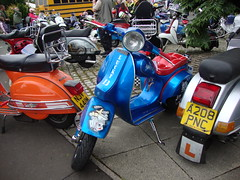 ...preston docklands...2010... (thescootz) Tags: club liverpool mod vespa scooter lambretta mods goldhawks