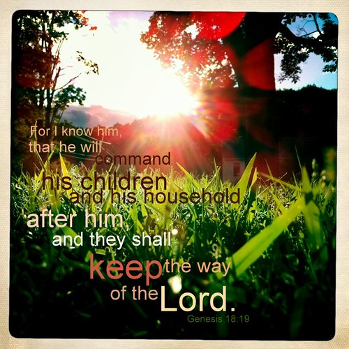 keep the way of the Lord
