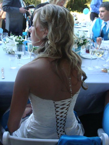 Krissy back view of dress