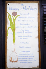 Alice Waters' Philosophy (jsgraphicdesign) Tags: ca food garden berkeley edibleschoolyard alicewaters d700
