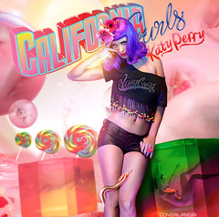 Katy Perry - California Gurls (COVERLANDIA) Tags: california summer art design video hit official artwork katy album dream cover single gurls perry teenage fanmade coverlandia