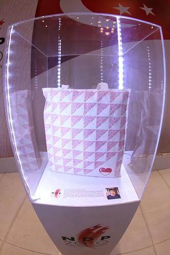 Casey Chen's tote bag design