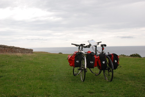 On the NCN1 Coast and Castles cycle route