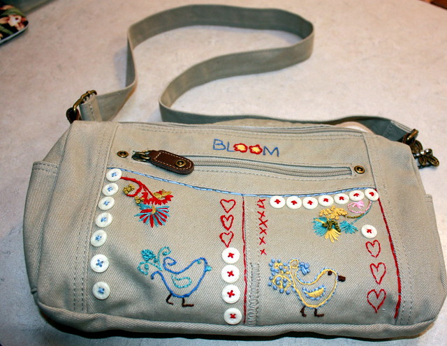 Embroirdered bag