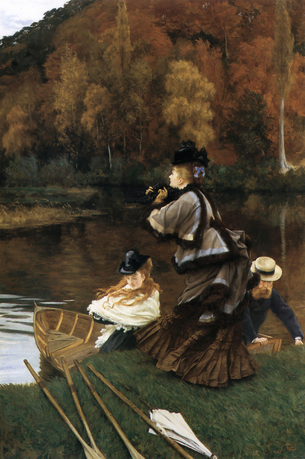 j tissot autumn on the thames