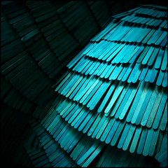 (Katerina.) Tags: blue abstract lines diagonal 500x500 haphazart haphazartblue colourartaward haphazartlines