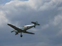 Landeanflug: Messerschmitt Bf 109