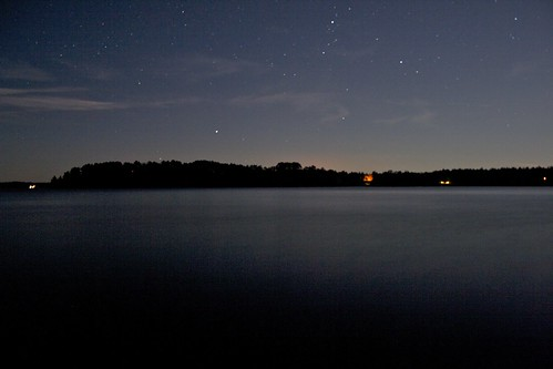Stars over Fox Island
