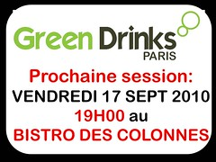Session GREEN DRINKS 17092010 COLONNES