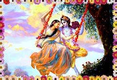 Our Dear Swinging Krishna is 5000+ years old, (Sunciti _ Sundaram's Images + Messages) Tags: birthday india art love canon temple nikon god picture canvas celebrations krishna krsna 1001nights hindu harekrishna bestshot gokulashtami janmaashtami 10faves iskon 5photosaday beautifulexpression krishnastami anawesomeshot agradephoto brilliante