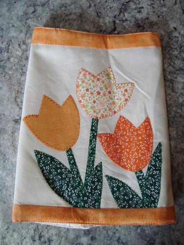 Capa de térmica tulipa laranja