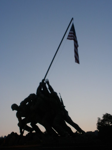 Iwo Jima at dusk-Explorica