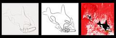 Killer Whale (kooky love) Tags: red cute saw chain killer whale bloody lafraise