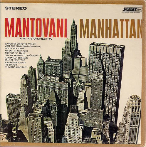 1963 Mantovani - Manhattan (Reel to Reel - Cover Art)