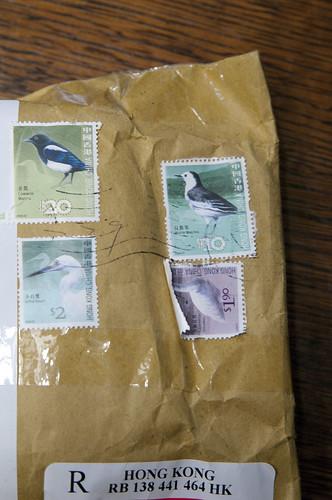 香港の切手