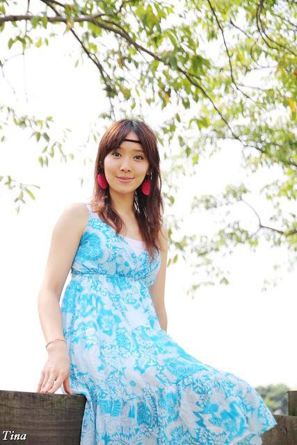 外拍作品~ 夏末樂章 ~ Tina  ^ ^