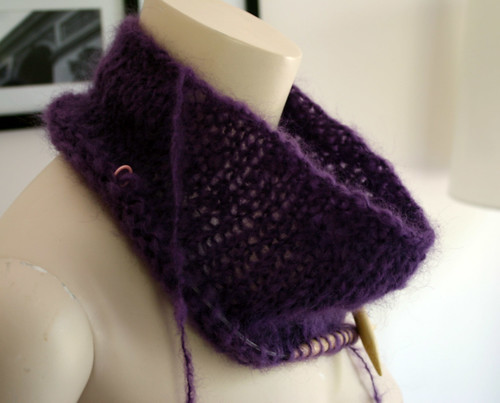 Cowl Pullover WIP