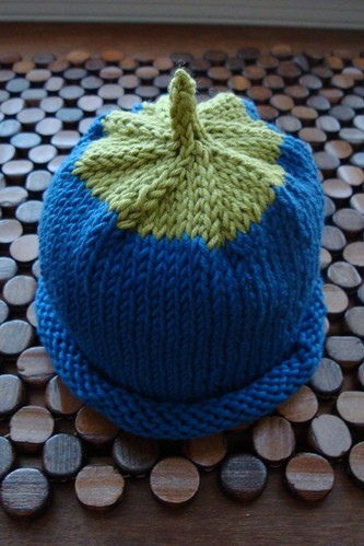 Berry Baby Hat - Blue 01