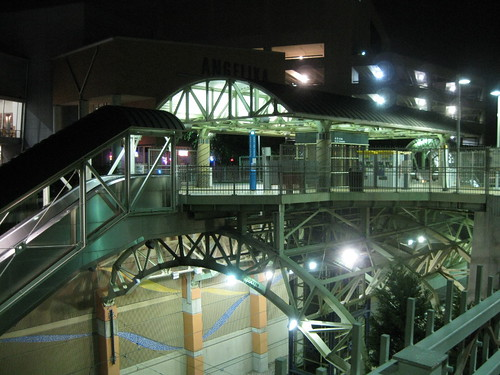 Station Platform Night