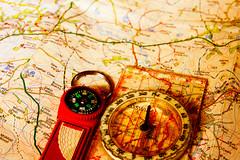 Lost (nogger) Tags: map crossprocess utata compass ironphotographer ip108 utata:project=ip108