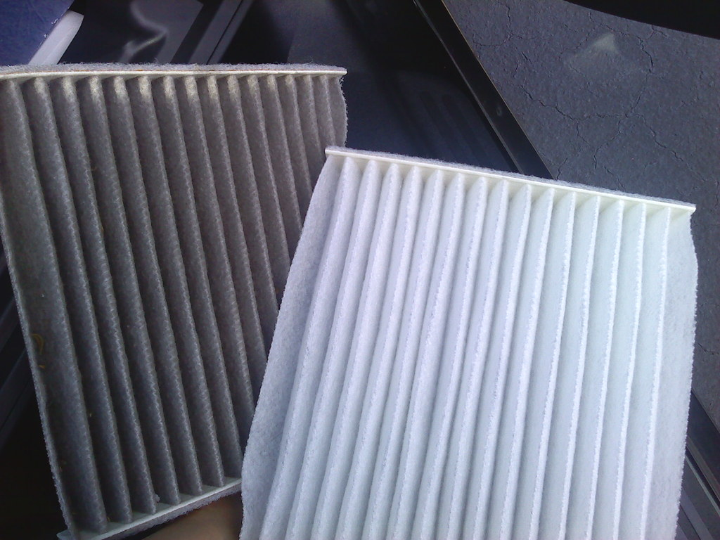 Finally replaced the cabin air filter in my Yaris