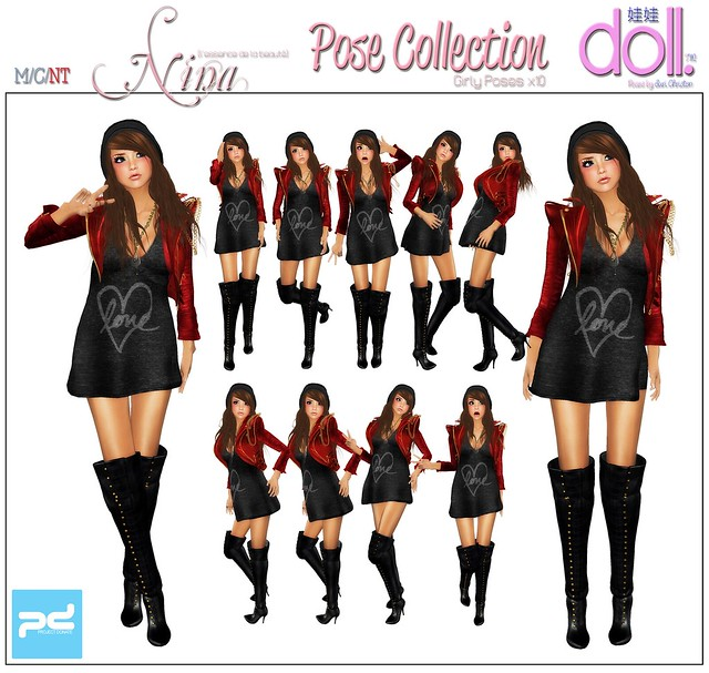 [doll.]™ Nina Pose collection - UNICEF PROJECT DONATE EXCLUSIVE