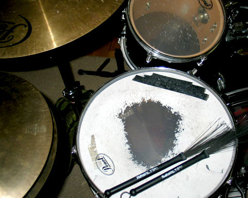 color tom drum brushes hihat cymbal snare