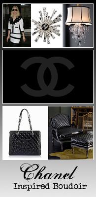 Chanel Inspired Boudoir