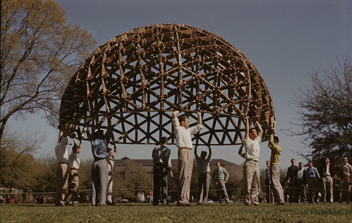 TSA Geodesic Dome project 01 1954