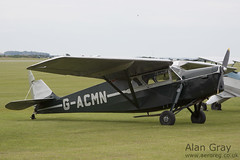 G-ACMN DE HAVILLAND DH.85 LEOPARD MOTH 7050 PRIVATE - 100905 Duxford - Alan Gray - IMG_1842