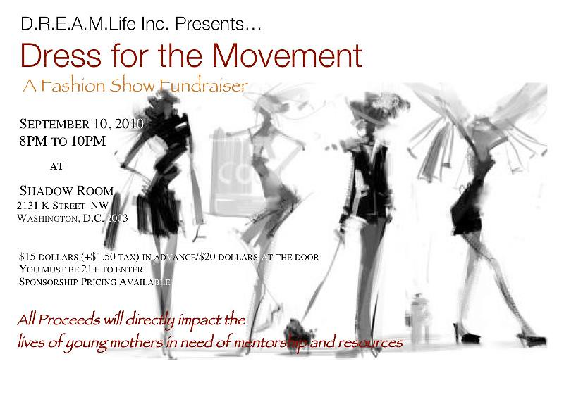 Dress For The Movement Fashion Show