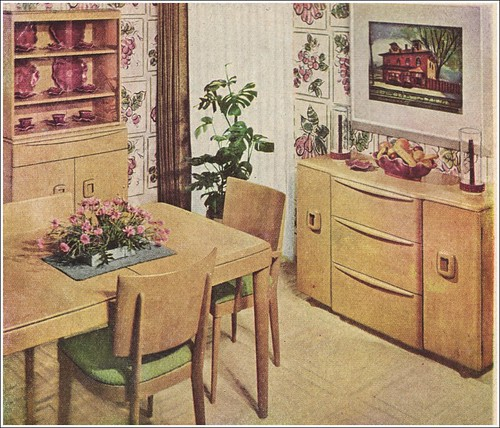 heywood wakefield ad the american home 1950