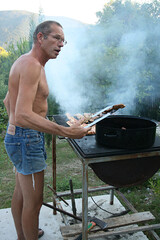 Wanna try my sausage - fnar fnar (campfullmonte) Tags: camping camp nudist naturist safe eco montenegro clothingoptional campfullmonte