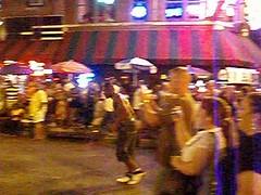 Street Acrobatics (klmontgomery) Tags: memphis july lausanne bealestreet 2010 silkyosullivans klmonty klmontgomery