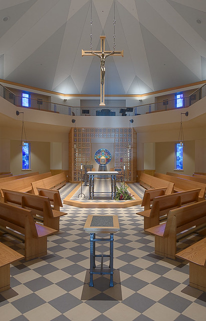 Christian Brothers College High School, in Town and Country, Missouri, USA - chapel