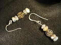 Dahlia Set: Dahlia Time in Labradorite -- Earrings only